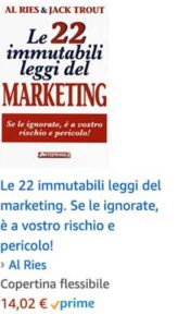 Le 22 immutabili leggi del marketing.